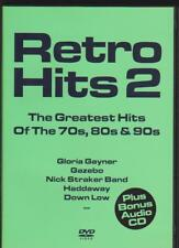 Retro Hits 2 Greatest Hits of the 70,80s & 90s (DVD+CD) Haddaway, Cappella u.a.