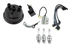 Ignition Tune up kit John Deere Tractor with 3 Cylinder Prestolite Distributor