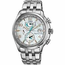 Citizen Eco-Drive FC0000-59D World Time A-T 39mm Case Mother of Pearl Dial Watch