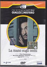 Dvd Sceneggiati Rai «LA MANO SUGLI OCCHI» con Massimo Mollica completa 1979