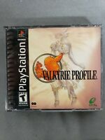 Valkyrie Profile (Sony PlayStation 1, 2000) - Missing the Manual!! - Tested RARE