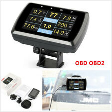 Car OBD OBD2 Gauge Driving SpeedMeter Fuel Consumption Water Temperature Display