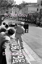 Peter Collins Lancia Ferrari D50 Grand Prix de Mónaco 1956 fotografía