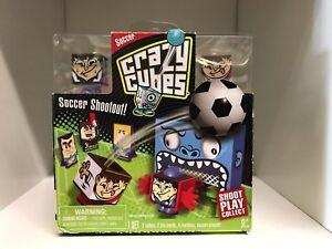 Crazy Cubes Soccer Shootout Shoot Play Collect 2012 Spin Master