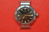 vintage the first SOVIET diver watch VOSTOK Ampibian Eared swing lugs 2209a
