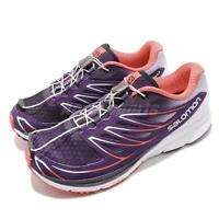 Salomon Sense Mantra 3 Purple Pink White Women Trail Running Shoes L39013400