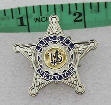 US Secret Service USSS silver star pin