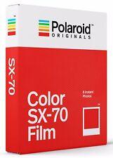POLAROID COLOR  SX-70 Film  SOFORTBILDFILM  NEUHEIT!!!!!!!!!