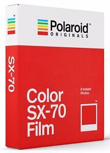 POLAROID COLOR  SX-70 Film  SOFORTBILDFILM  Herstellungsdatum 05/2021