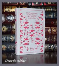 Alice in Wonderland & Through Looking Glass L. Carroll New Collectible Hardcover