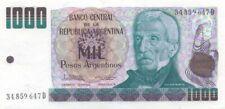 ARGENTINA - P.317b. 1,000 Pesos Argentinos. ND [1983-85]. UNC