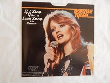 """BONNIE TYLER """"If I SING YOU A LOVE SONG"""" PICTURE SLEEVE! ONLY NEW COPY ON eBAY!"""