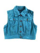 Ladies Denim Waistcoat Size 8