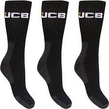 3 Pares Para Hombre Jcb Arranque calcetines Ropa de trabajo del talón reforzado y la