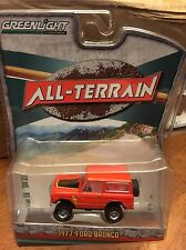 Greenlight All-Terrain Series 4. 1977 Ford Bronco.  red