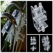 Aquarium Fixed Lily Pipe Filter Accessory Clamp Acrylic Pipe Fix Bracket HC