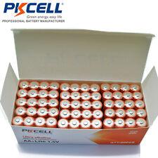 Lot 48x 1.5V LR6 AA 2A Double A Bulk Alkaline Dry Batteries PKCELL