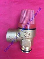 Ravenheat RSF Boiler 3 Bar Pressure Relief Valve 5015010 Pushfit Type