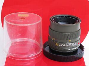 "RARE Leica R 50mm f:1.4 Summilux SAFARI lens with bubble US SELLER NICE ""LQQK"""
