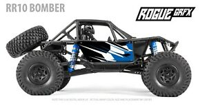 Axial RR10 Bomber Body Graphic Wrap Skin- Go Fast Blue