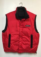 Nautica Competition EPG Red Reversible Puffer  Vest EUC