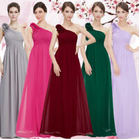 Ever Pretty Women Long One Shoulder Bridesmaid Wedding Dress Evening Gown 08237