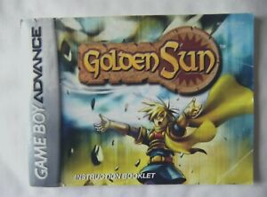 61472 Instruction Booklet - Golden Sun - Nintendo Game Boy Advance (2001) AGB-AG
