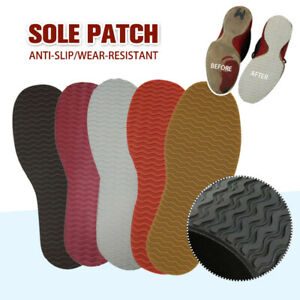 Replacement Anti-slip Rubber Soles DIY Stick On Heel Repair Shoes Pads Cushion