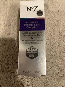 No7 Advanced Retinol 1.5 Complex Night Concentrate 1 oz