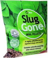 Vitax 1 Litre Slug Gone Organic Natural Wool Snail & Slug Pellets - Pet safe