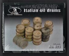 ROYAL MODEL 623 - ITALIAN OIL DRUMS - 1/35 RESIN KIT