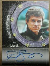 Stargate SG-1 Autograph Card - A32 Peter Stebbings  (Malek)