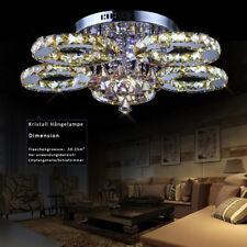 LED Kristall Deckenlampe Hängeleuchte Deckenleuchte Fernbedienung 76W Warmwei�Ÿ