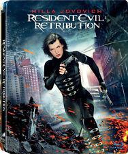 Resident Evil: Retribution (Blu-ray, SteelBook, Milla Jovovich, OOP) RegionFREE