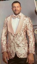 Men's rose gold modern fit blazer