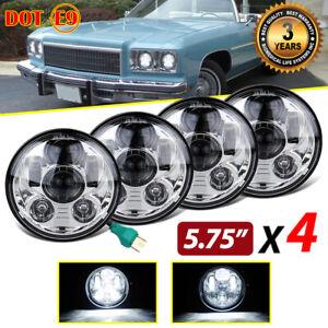"DOT 5-3/4"" 5.75 LED Headlights HI/LO for Chevy Pontiac GTO Grand Prix Catalina"