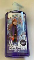 2 x Frozen Hand Wash 300ml Each Blueberry Girls Soap Kids Hands Hygiene Elsa