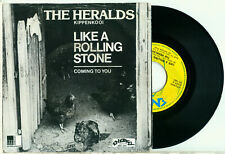 the HERALDS Like A Rolling Stone (Dylan) 1981 DUTCH Energy PS NRG 1013 VINYL 7)