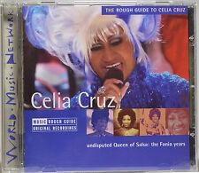 The Rough Guide to Celia Cruz by Celia Cruz [UK Imp. - RGNET 1150CD - 2005] MINT