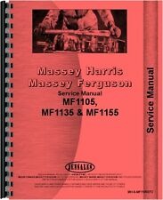 Massey Harris Massey Ferguson  Tractor Service Manual for 1105, 1135 and  1155