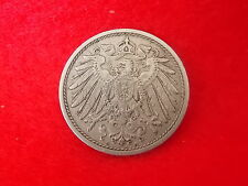 Vintage Antique Collectable Deutsches Reich 1910 Pfenning 10