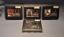4 Film Cells Genuine 35mm Framed & Matted Marvel's Avengers Age of Ultron Assemb