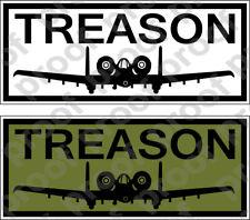 Sticker Usaf A10 Treason