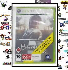 la legende de beowulf MICROSOFT XBOX 360° NEUF NEW PROMO DISC PAL UK.