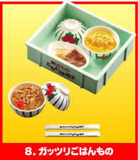 RE-MENT, Food Delivery Services #8 (Curry Rice, Pork Rice & Chicken Egg Rice)