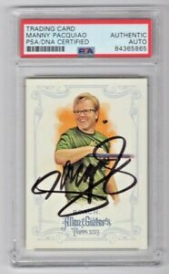2013 Topps Allen & Ginter Freddie Roach Manny Pacquiao Signed Auto #219 PSA/DNA