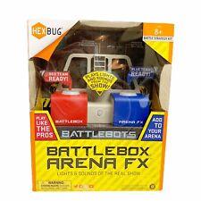 NIB Hexbug Battlebots Battlebox Arena FX Brand New Sealed