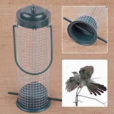 Iron Wire Garden Hanging Seed Feeder Hanger Wild Bird Squirrel Perch Peanut Feed