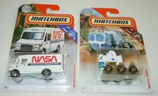 NASA SEV Chariot Mission Support Vehicle LOT 2 Matchbox NEW Sealed Diecast Truck