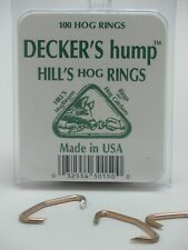 Decker Manufacturing Company, Decker's Hump Hill's No.3 Hog Rings,100 Count Box